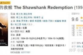 《肖申克的救赎》:100万人打出9.6,神作为什么这么神