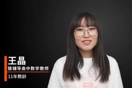 王晶高二数学课程王晶2021年寒假班视频课
